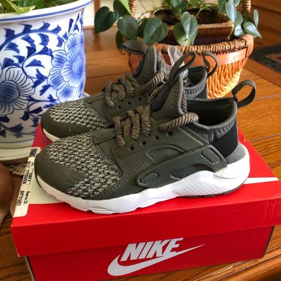 872429a9572c Nike huarache run ultra shoes toddler boy sz10.5